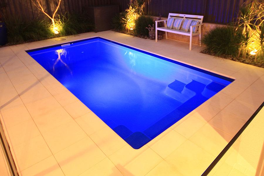 allure fibreglass pool