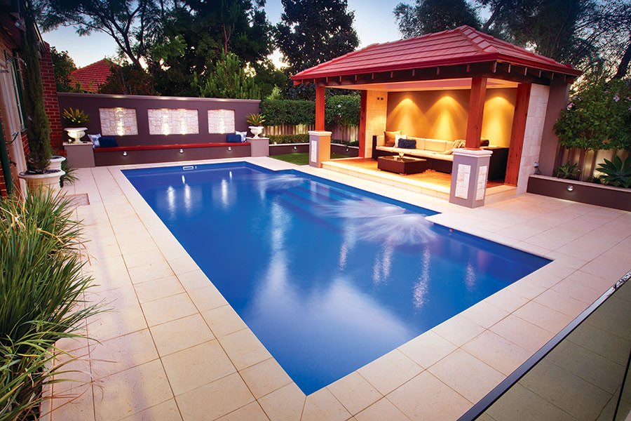 Large Fibreglass Pools