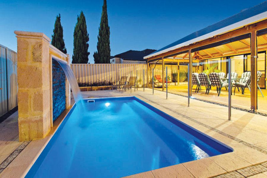 sovereign fibreglass pool