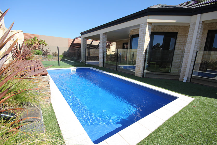 verona fibreglass pool