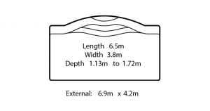 omega fibreglass swimming pool